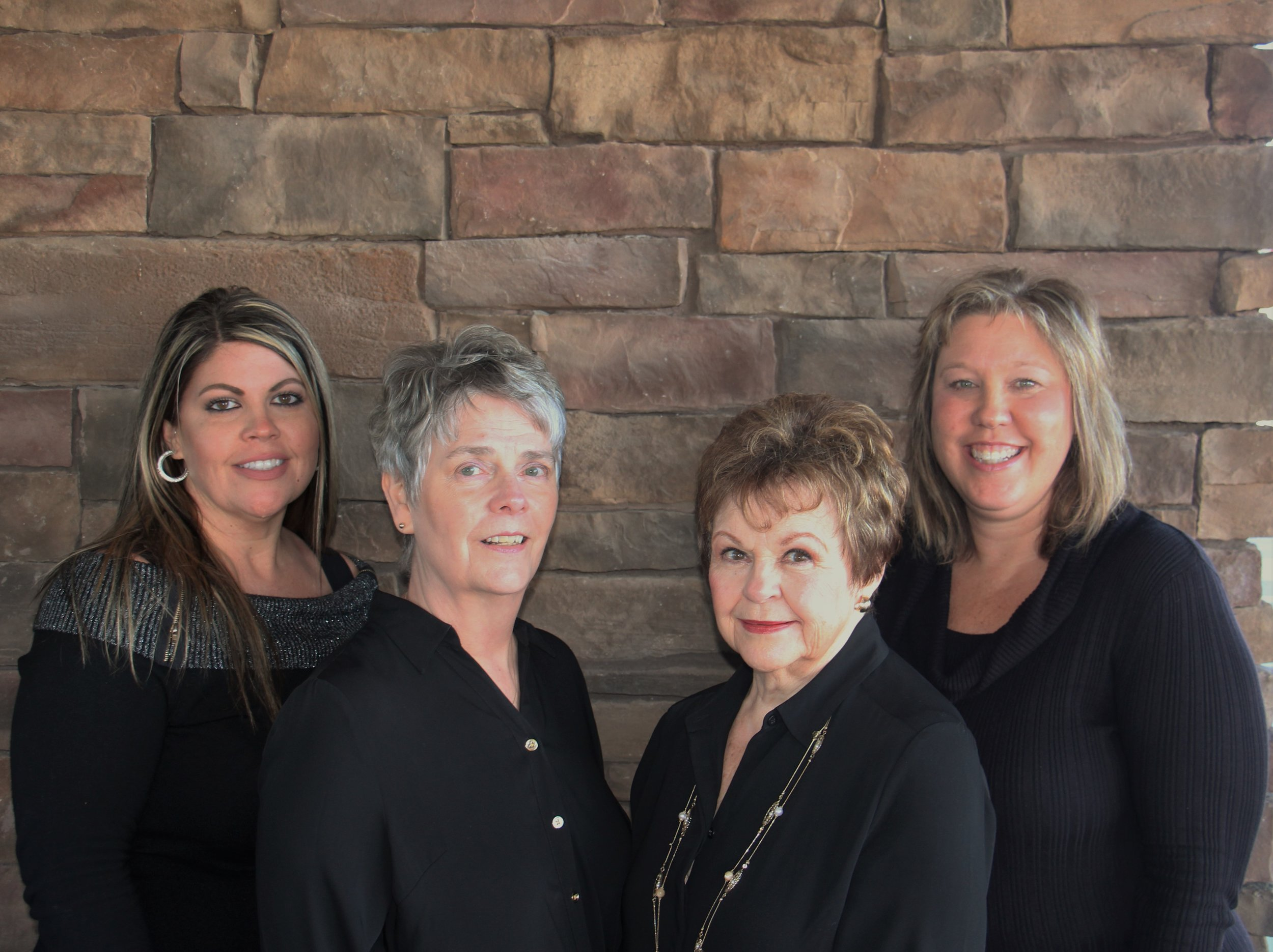 Meet our Team:  Raquel Olson | Joan Callies | RaeGene Larson | Tina Spielmann