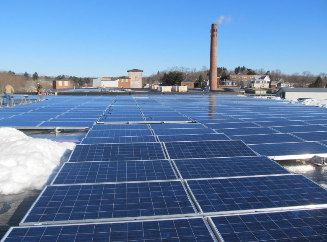 Saxonville Solar panels