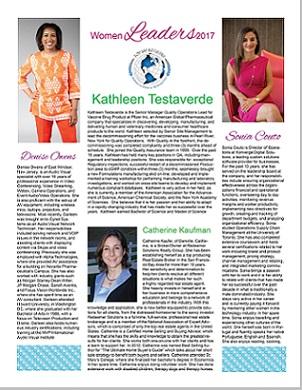2017 Top 100 Professional Women