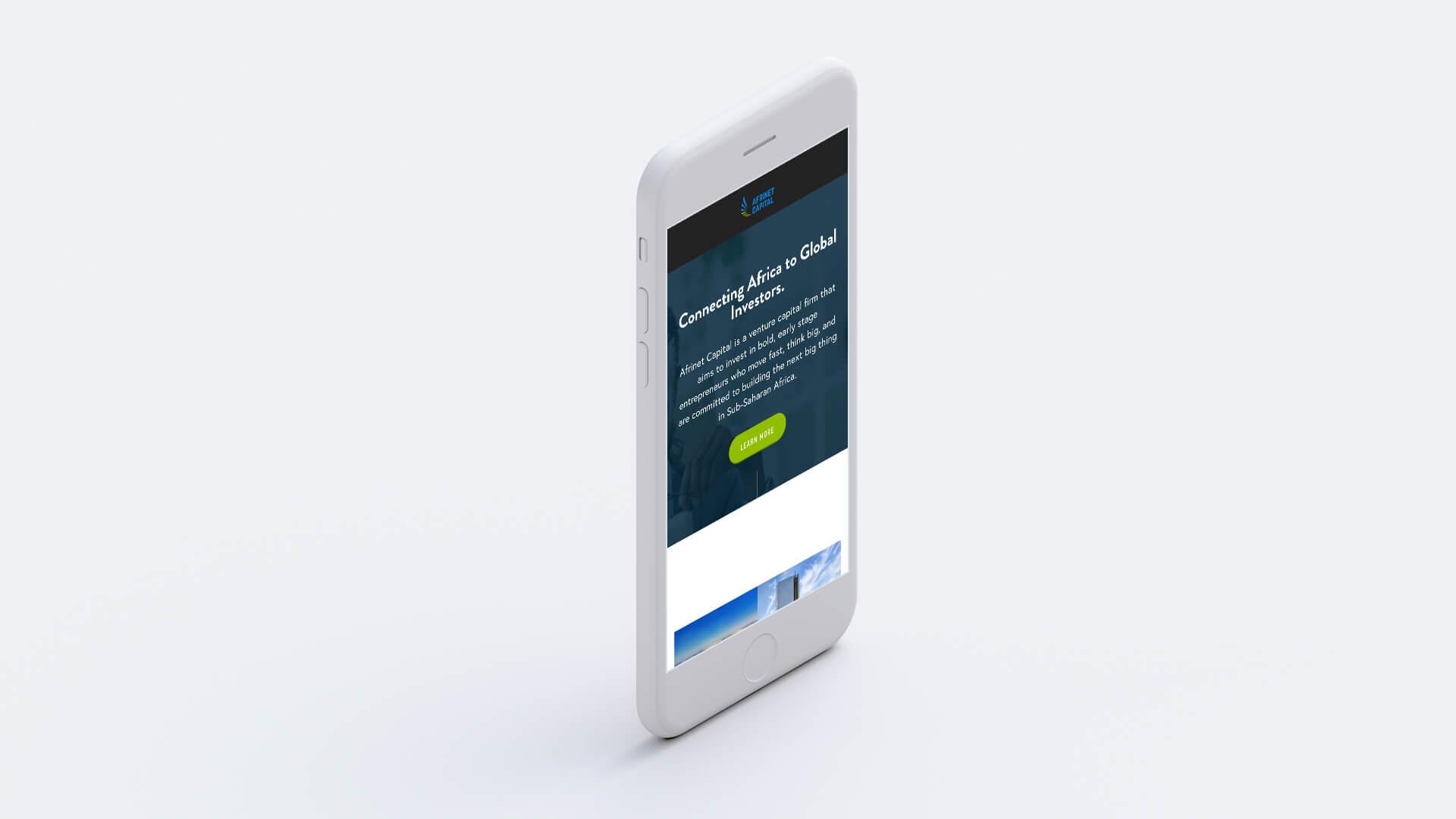 Modus Design Lab Case Study (work) –.Afrinet Capital desktop and iPhone mockup (1).