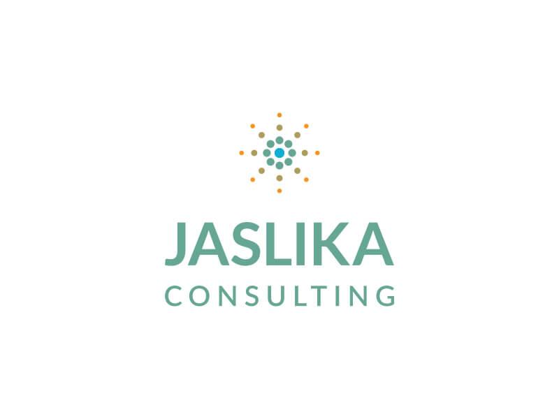 Modus Design Lab Case Study (work) – Jaslika Consulting full logo stacked.