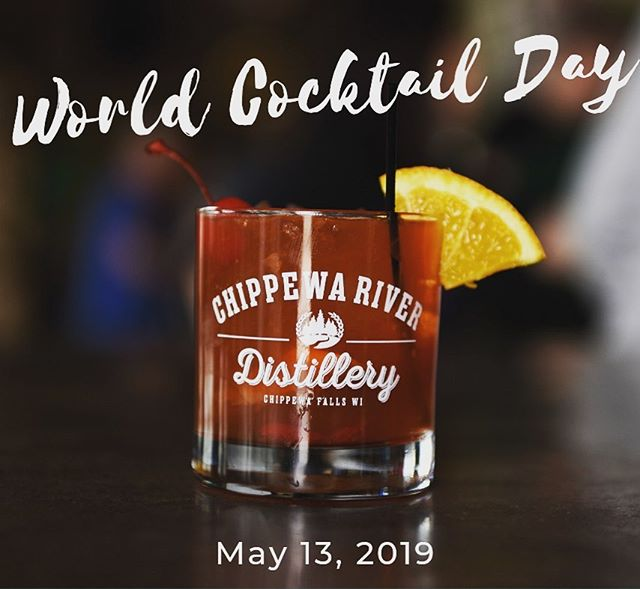 #worldcocktailday2019 #wicraftspirits #craftspirits #chippewafalls