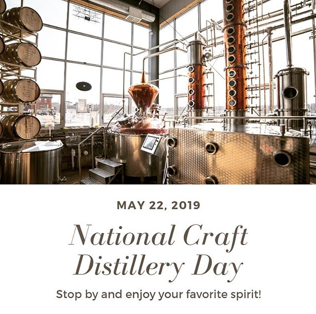 #nationalcraftdistilleryday #wicraftspirits #visityourlocaldistillerytoday #drinklocal #chippewafalls