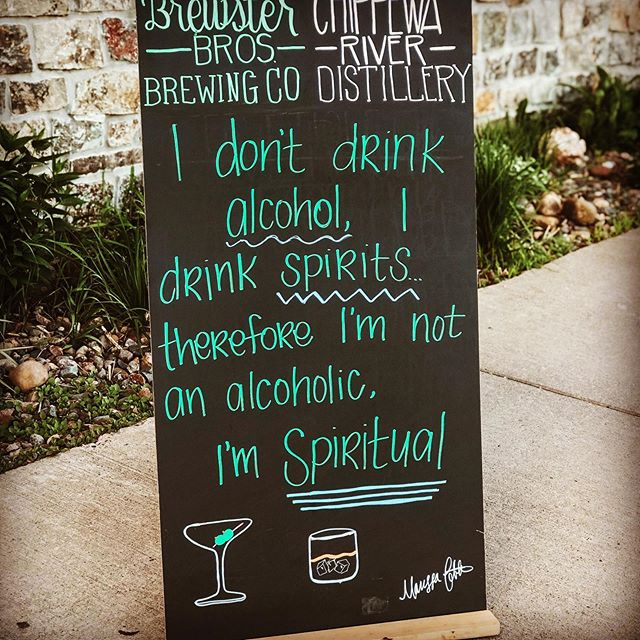 #thirstythursday #wicraftspirits #drinklocal #chippewafalls