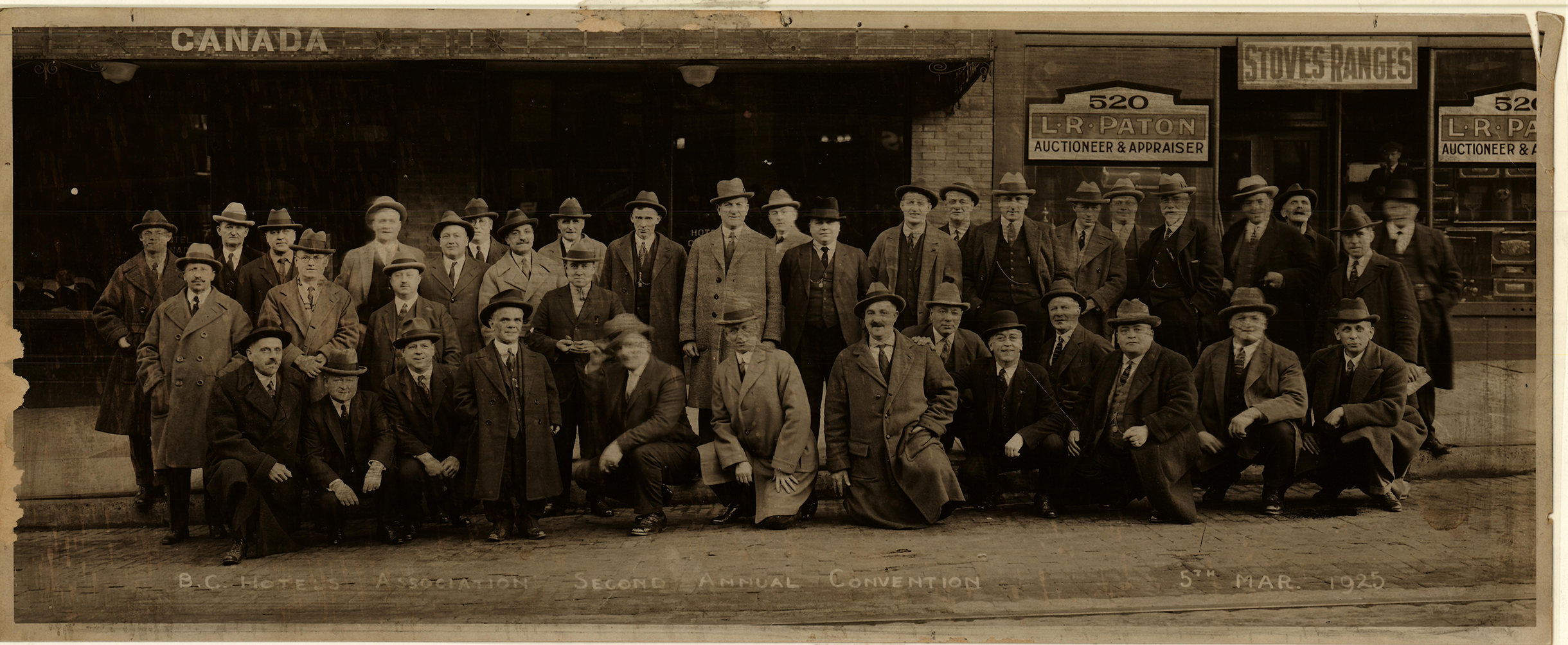BCHA 2nd Annual Convention, 1925