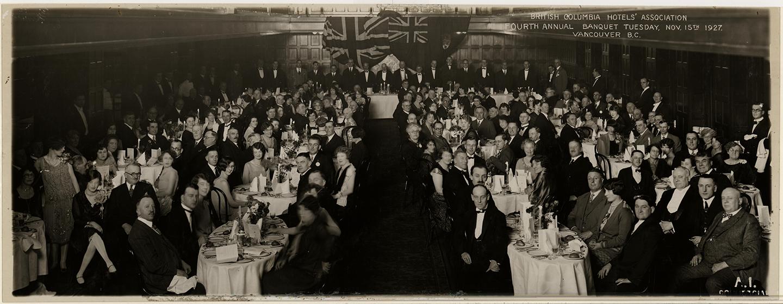 BCHA 4th Annual Banquet, 1927