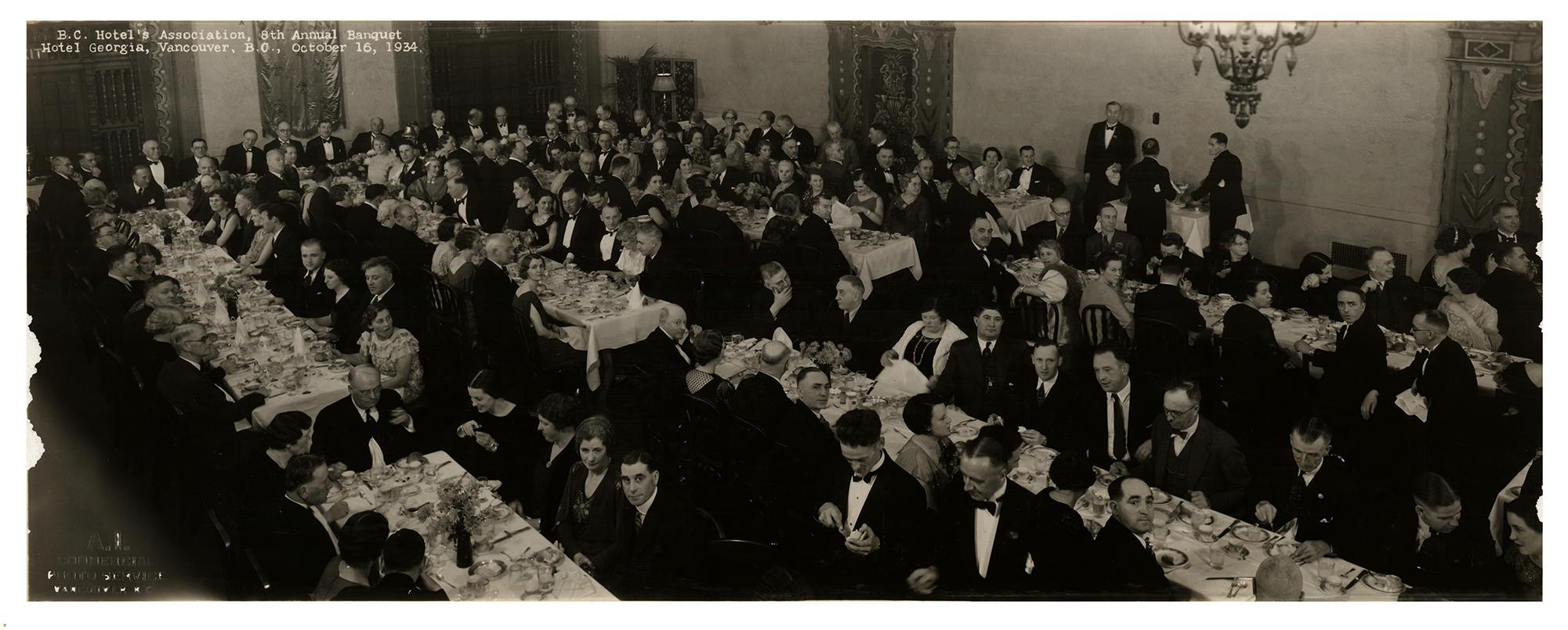 BCHA 8th  Annual Banquet, 1934