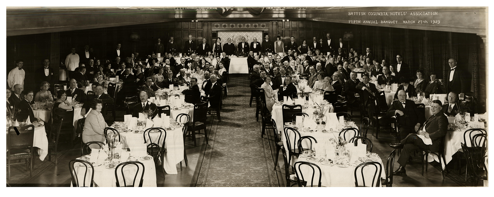BCHA 5th Annual Banquet, 1929