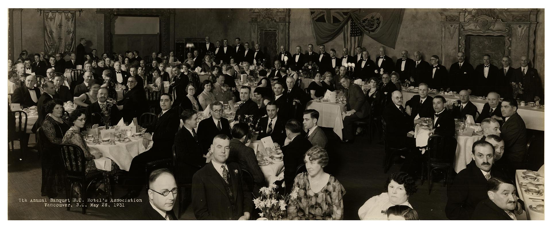 BCHA 7th Annual Banquet, 1931