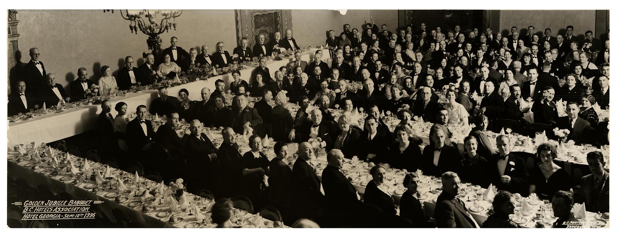BCHA Golden Jubilee Banquet, 1936