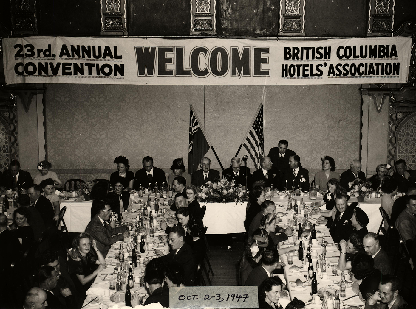 BCHA 23rd Annual Convention, 1947