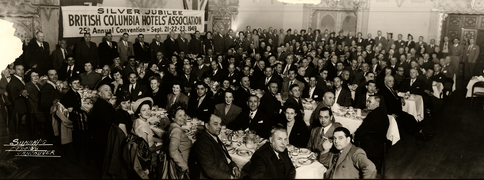 BCHA 25th Annual Convention, 1949