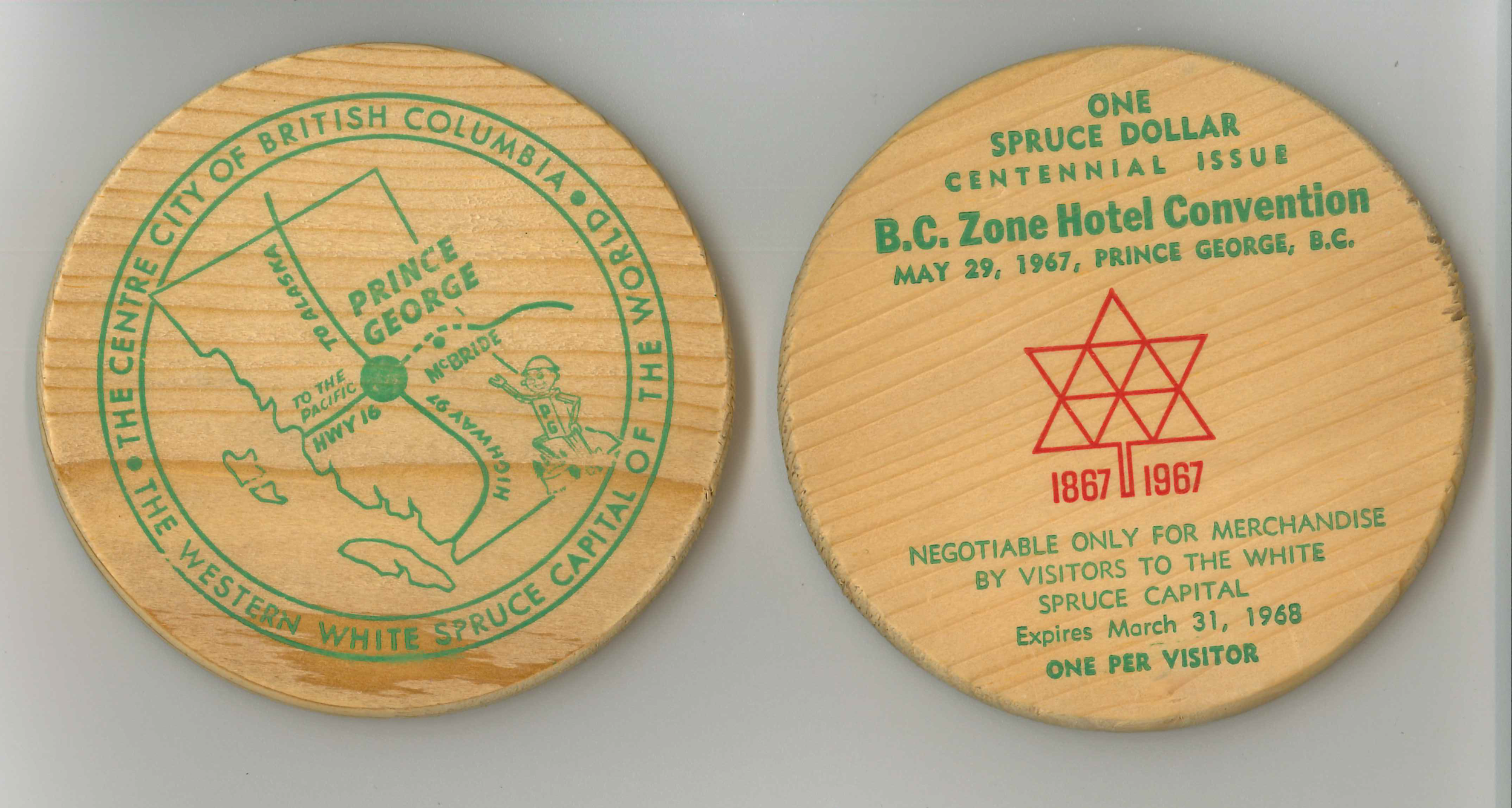 Hotel Convention Coin, 1967