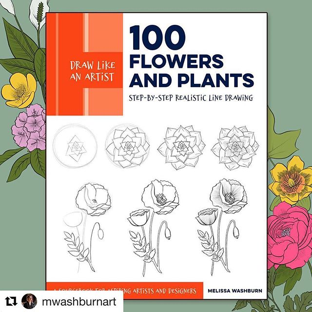 We're so excited to learn to draw flowers and plants with Crush member @mwashburnart 's new book, available for preorder now! 🌺❤️ #Repost @mwashburnart with @get_repost ・・・ I am super excited to announce that my first book, being published by @quartocreates , will be out in July! It's available for pre-order now at Amazon, B&N, and other online retailers, and you can learn more in the link in my profile! ❤️🌺 . . . #learntodraw #drawflowers #botanicalart #florals #drawinginstruction #100flowersandplants #natureillustration #drawingbook #learntodrawflowers #quarrybooks #flowerart #publishing #bookillustration #quartoknows