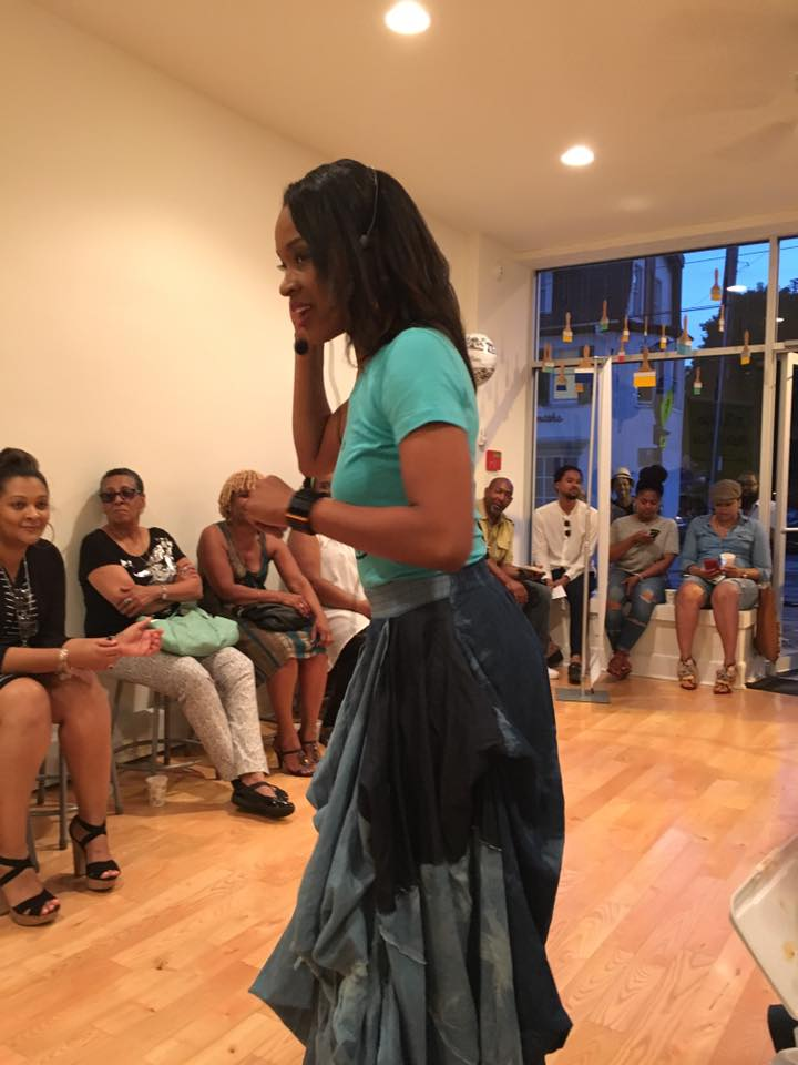 Grand opening of ARTrageous Brush and Flow studio in 2015