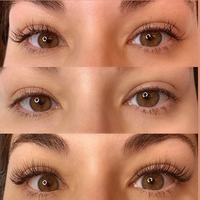 1. The remains of an old set(not by me) that we're a little stiff, clumpy, and just not the look she wanted.⠀ 2. I did a full removal.⠀ 3. I applied a classic full set that better complimented her eyes and gave her the look and feel she wanted. ⠀ ⠀ If you want to be one of my lash clients, I'd love to work with you as soon as my schedule allows, so email caitlinchart90@gmail.com to be added to my waitlist!