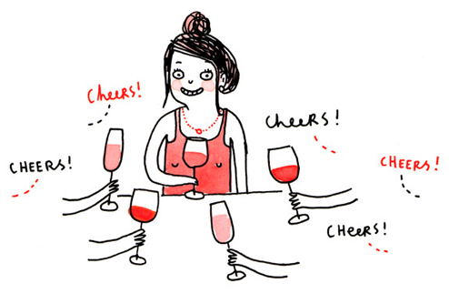 Illustrations by  Gemma Correll  (whose wonderful work also appears in  How to Be Yourself )