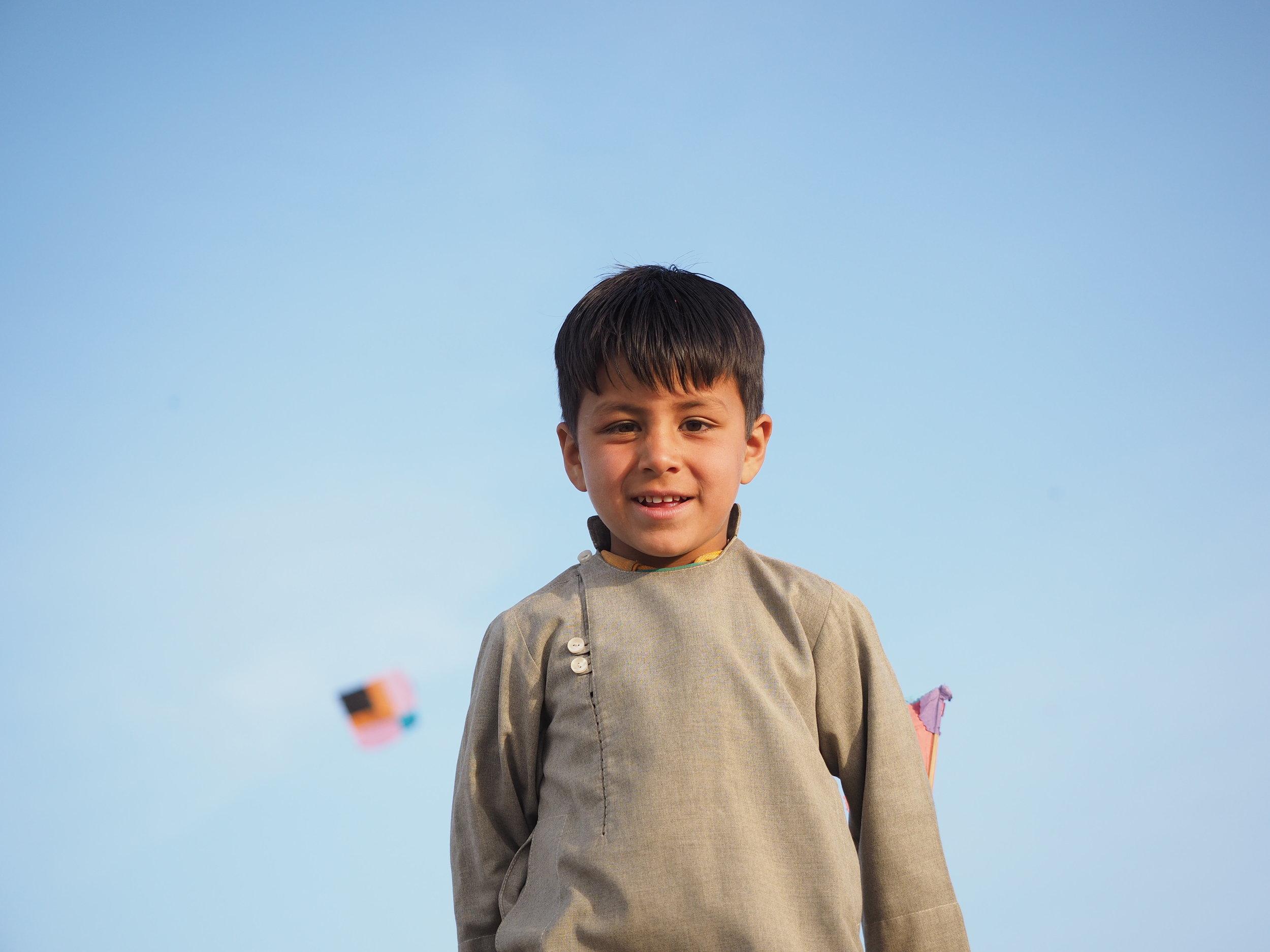The real kite runner.