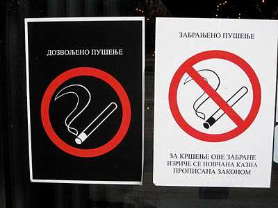 o smoking in this Belgrade establishment, though magic wants are definitely allowed.