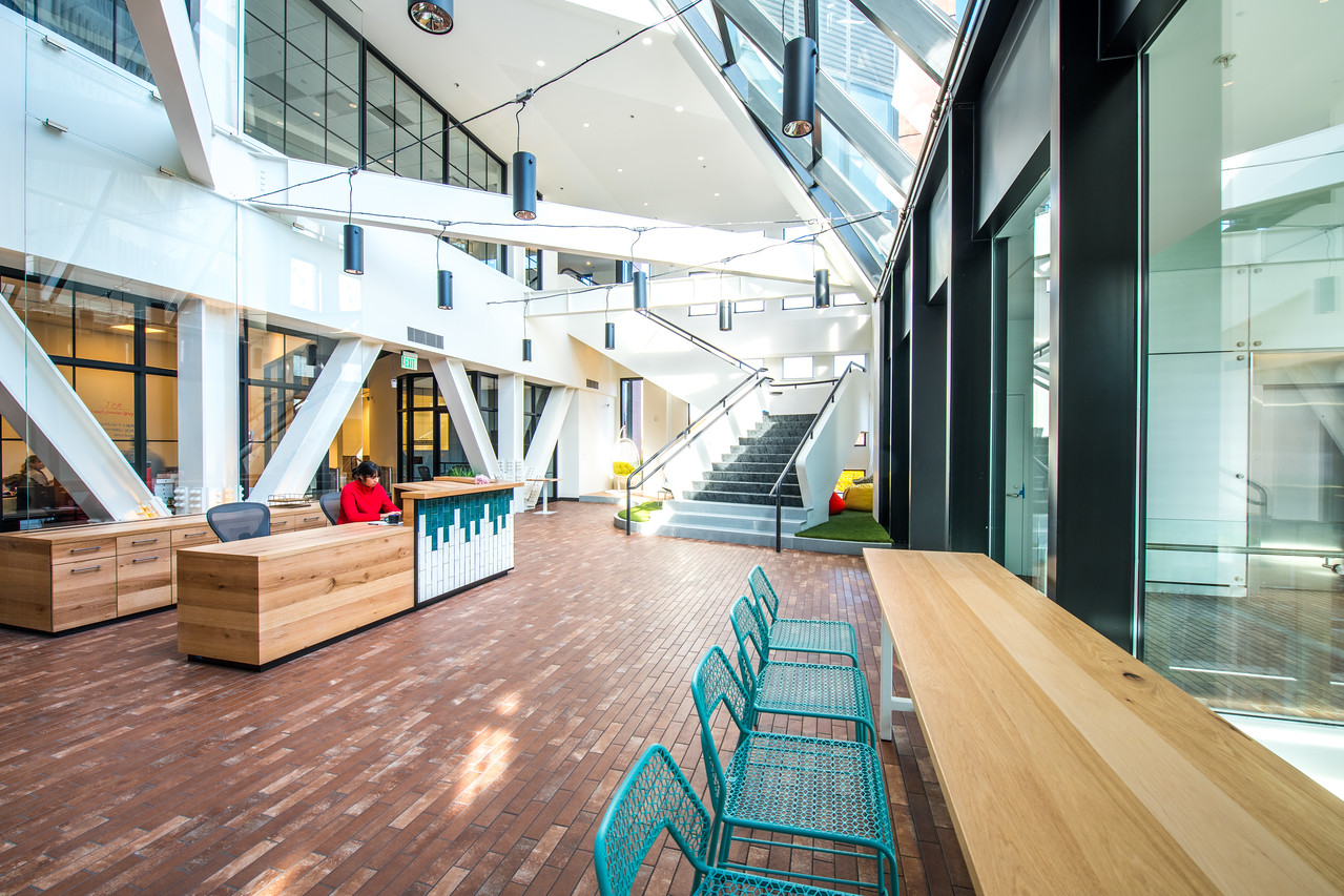 245 Main, Kendall Square - CIC's most recently opened location in Cambridge, Massachusetts