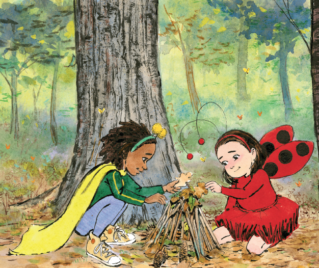 The LADYBUG GIRL Series -