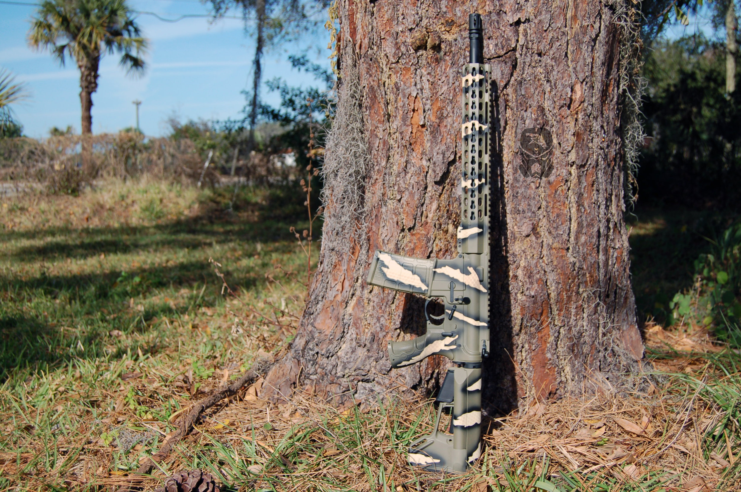 Riptile Camo AR15