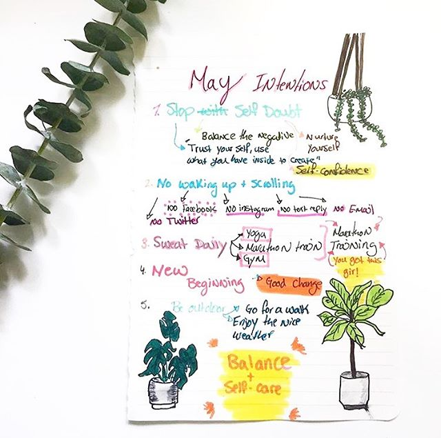 Since I haven't had a chance to write intentions for this month, I thought I'd recycle ♻️ this one from May of last year! Given that I recycle and reuse a lot of things! It seems fitting that I recycle this intention! This month is definitely about selfcare and balance