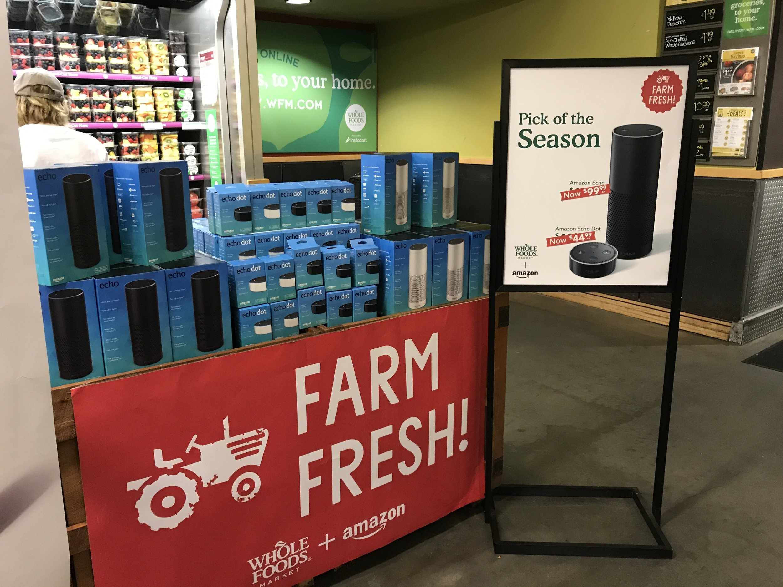 Amazon Echo is on sale at Whole Foods