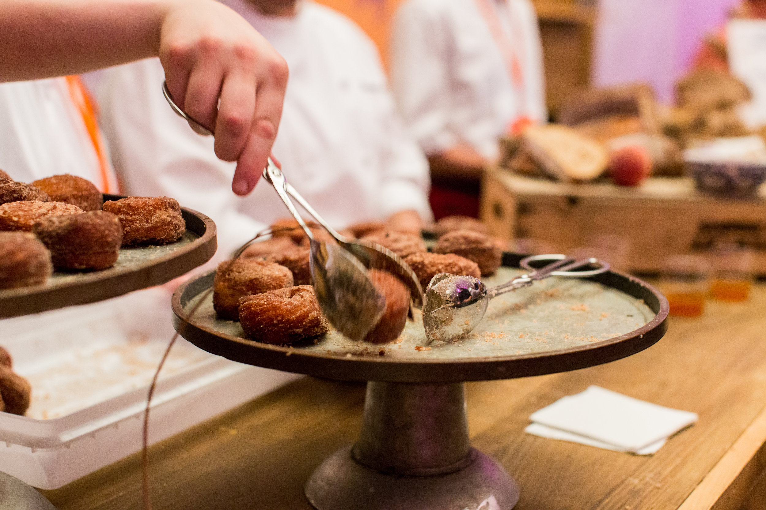 Daily Provisions debuted their cinnamon crullers to Harvest guests in 2016.