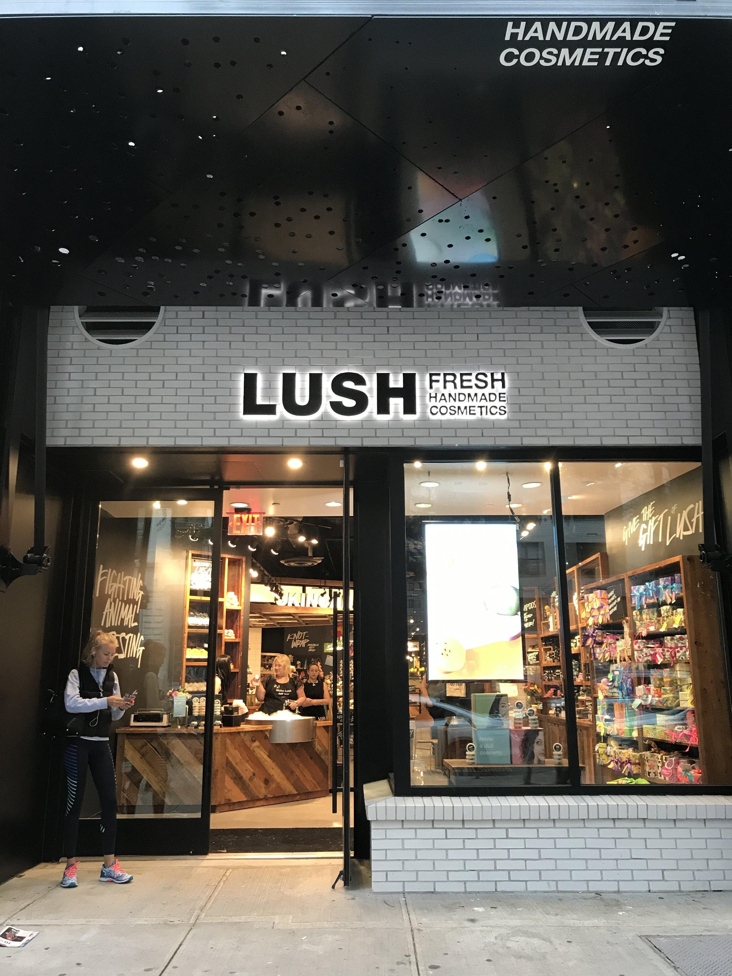 Lush on 14th Street.