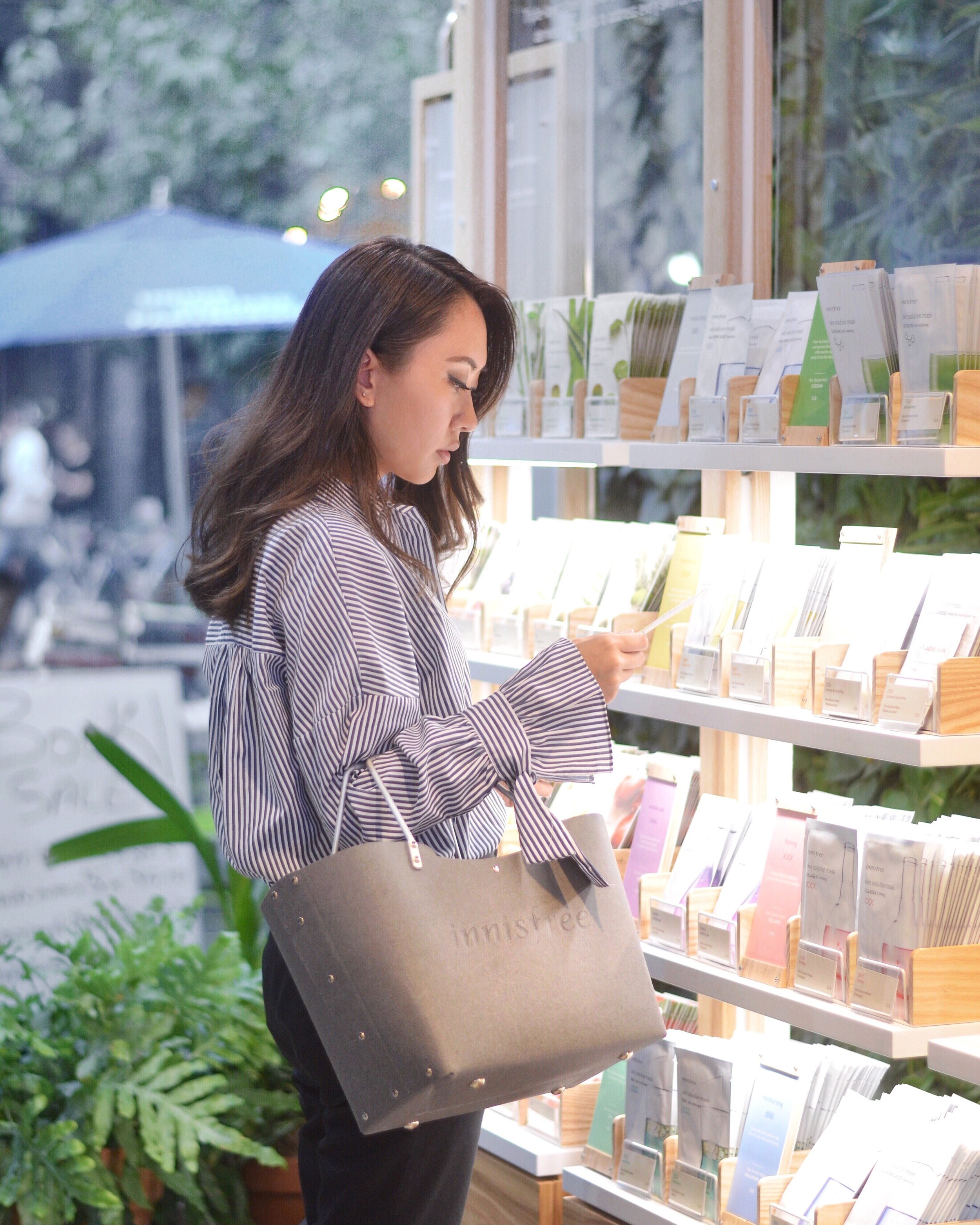 Brands, like Innisfree, are debuting their first U.S. locations in Union Square. Credit: Jenny Huang.