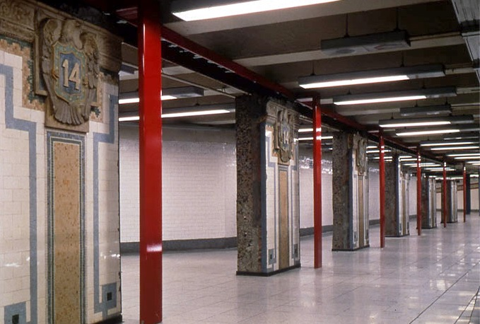 Mary Miss,  Framing Union Square  (1998). Image Source: MTA