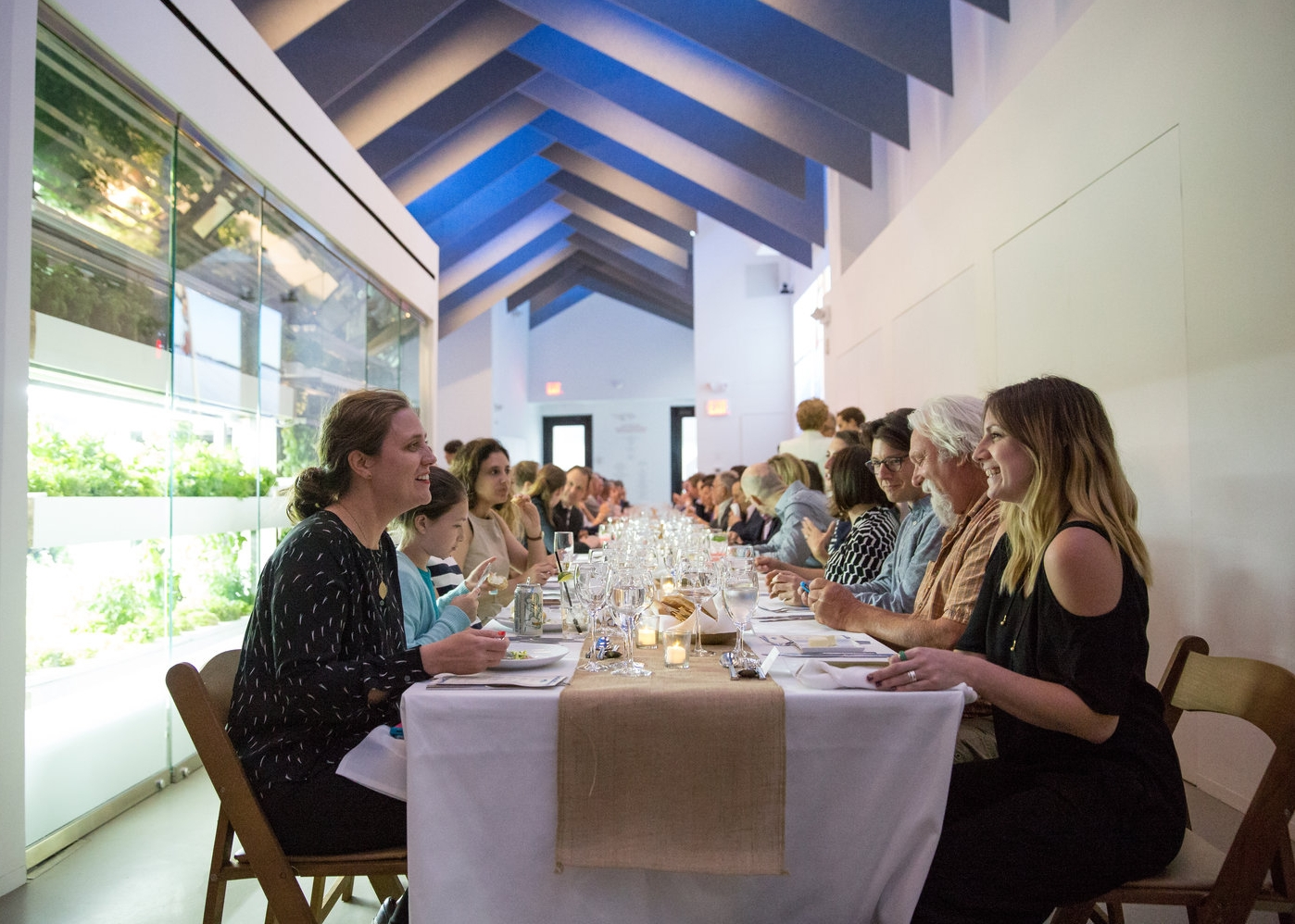 Host events and gatherings at Project Farmhouse. Image Source: GrowNYC