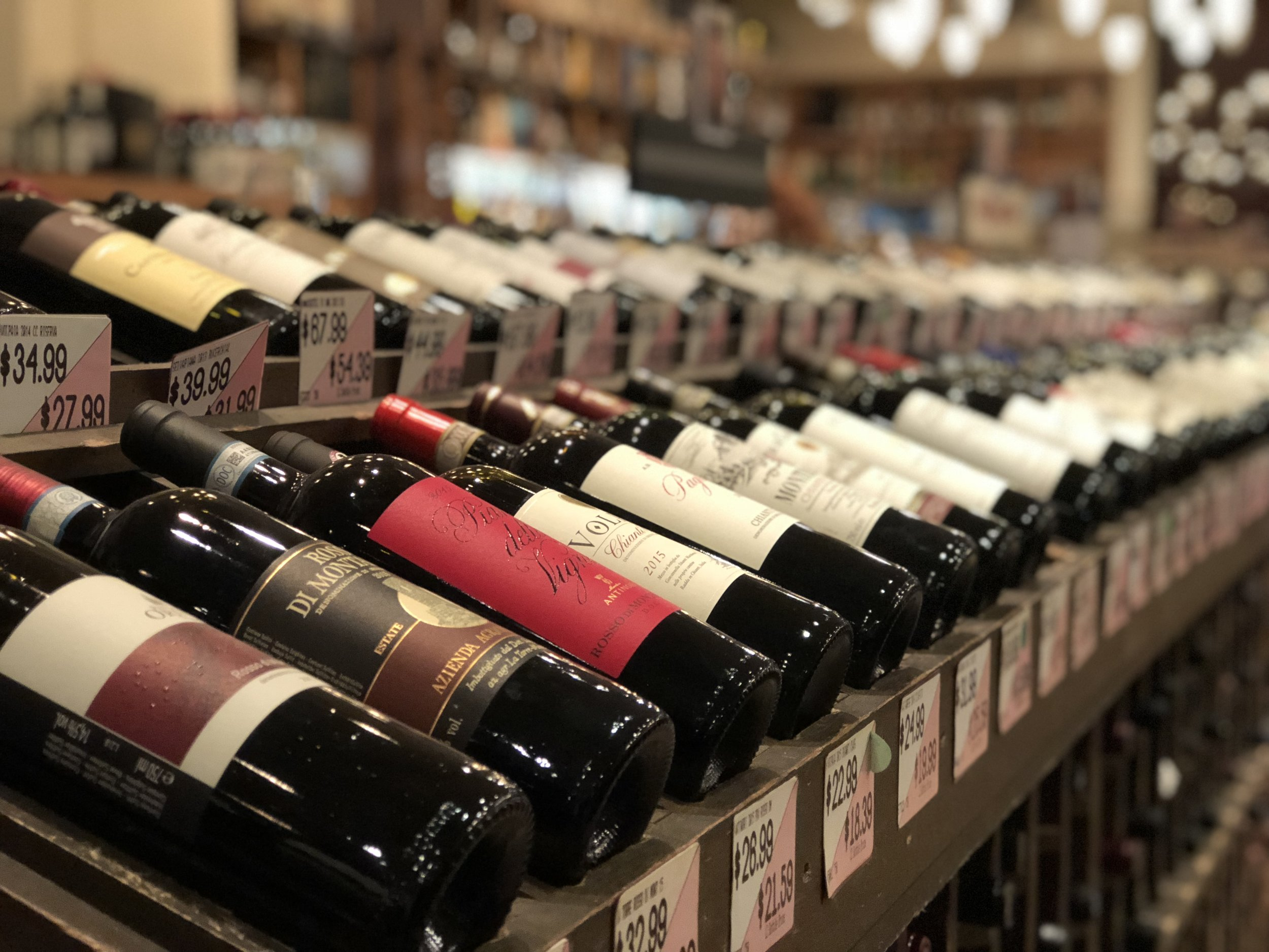 Wine connoisseurs at USQ Wines & Spirits can help you choose the perfect bottle.