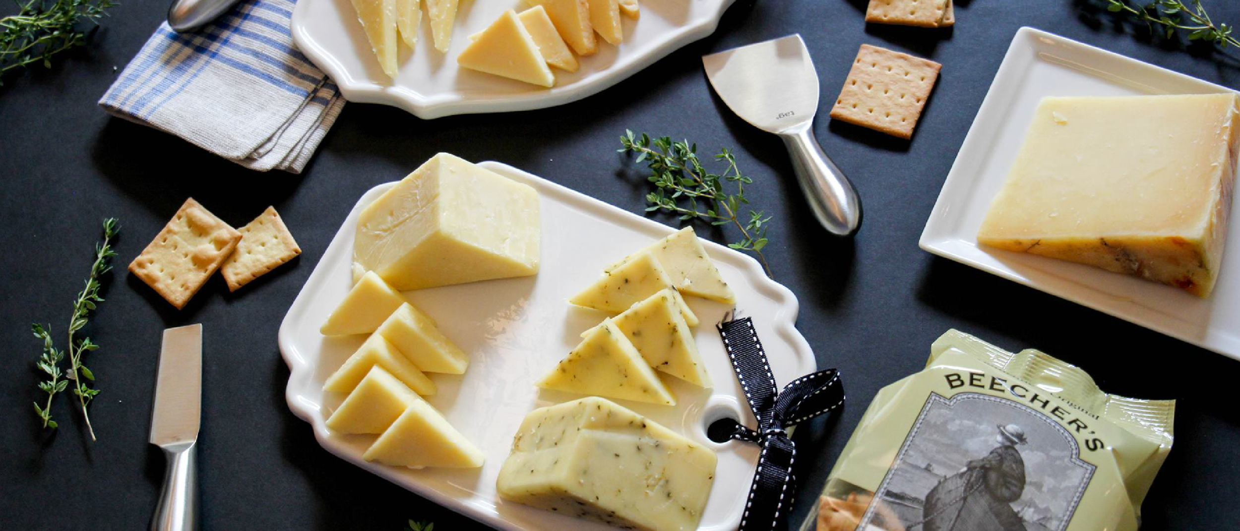 Say cheeese! This spread from Beechers will surely excite guests.