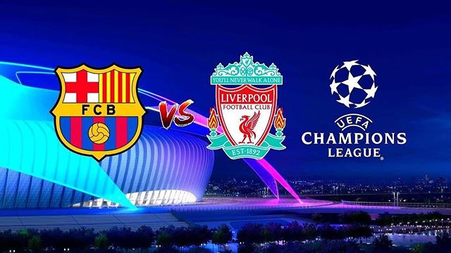 Barcelona vs Liverpool for champions league semi-finals. Watch @emblem_bk. #championsleague #2019 #barca #liverpoolfc #fcbarcelona #emblem #sportsbar #brooklyn #campnou