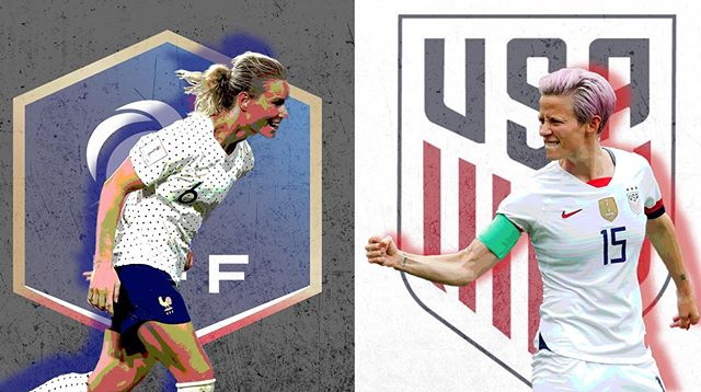 3pm - playing with sound! USA vs France. #womensworldcup #womensworldcup2019