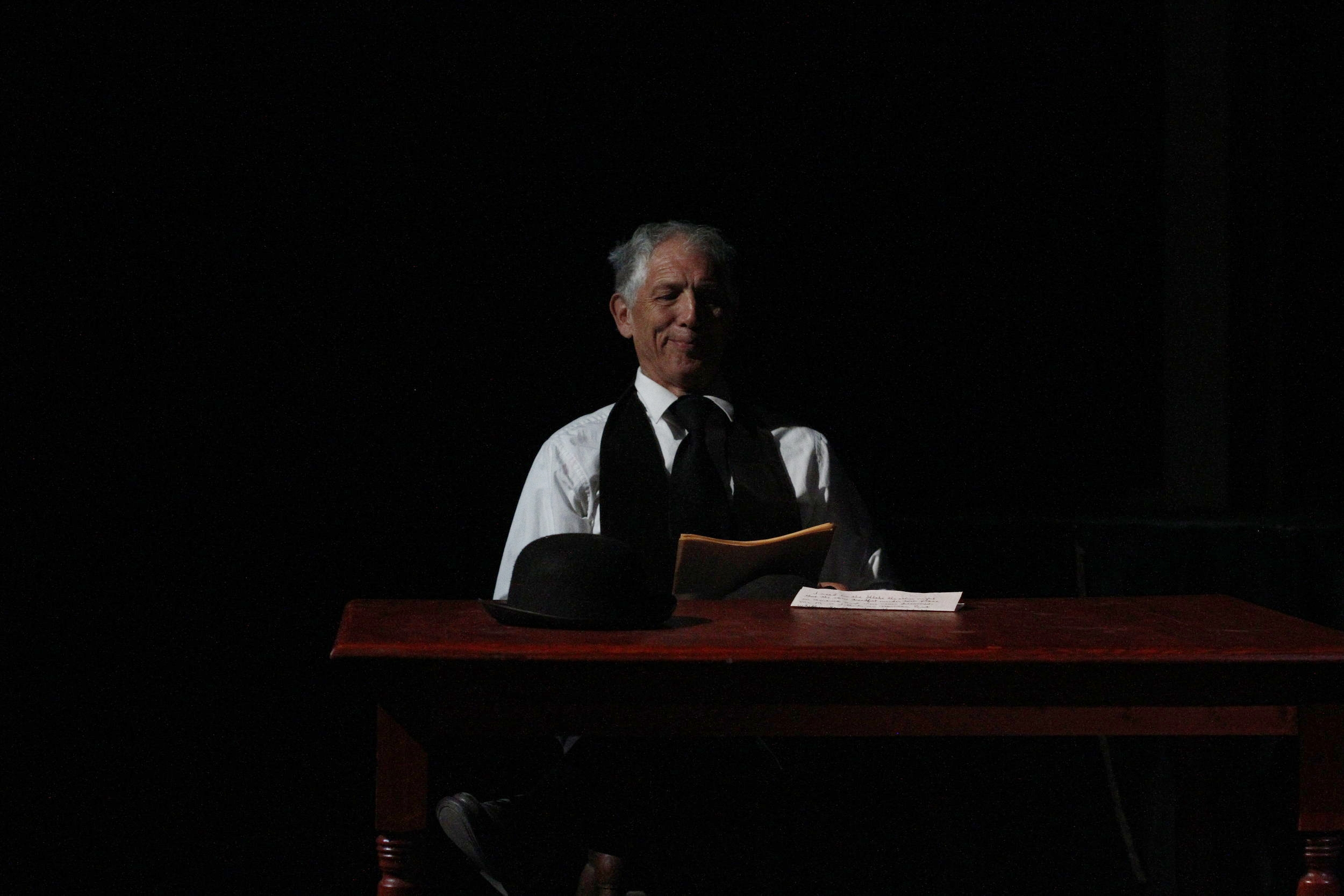 "Andy Axewell in ""The Interrogation of Richard Mansfield"", Actor by Tim Prasil"