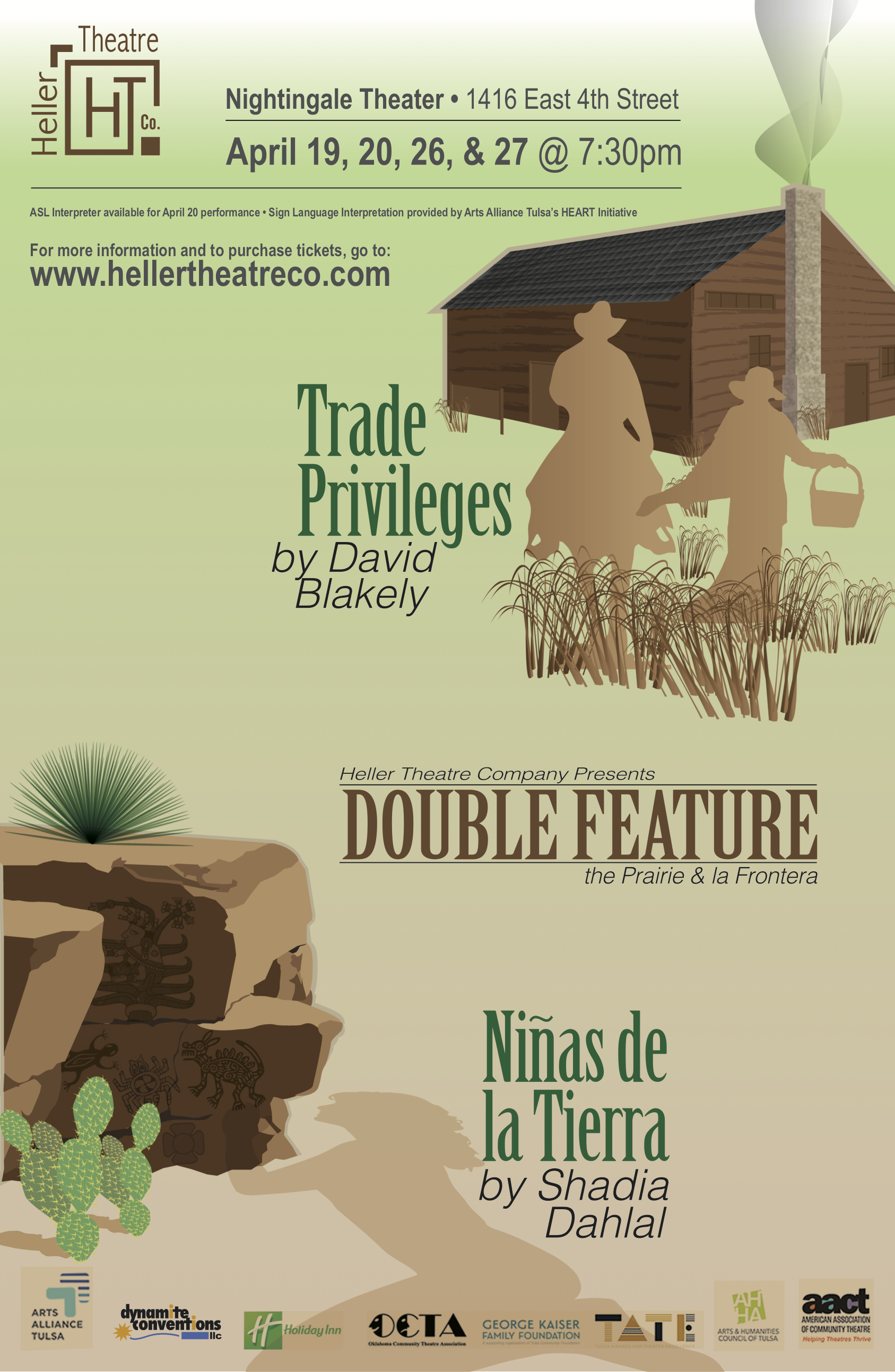 Heller Theatre Double Feature 2019 Poster.png
