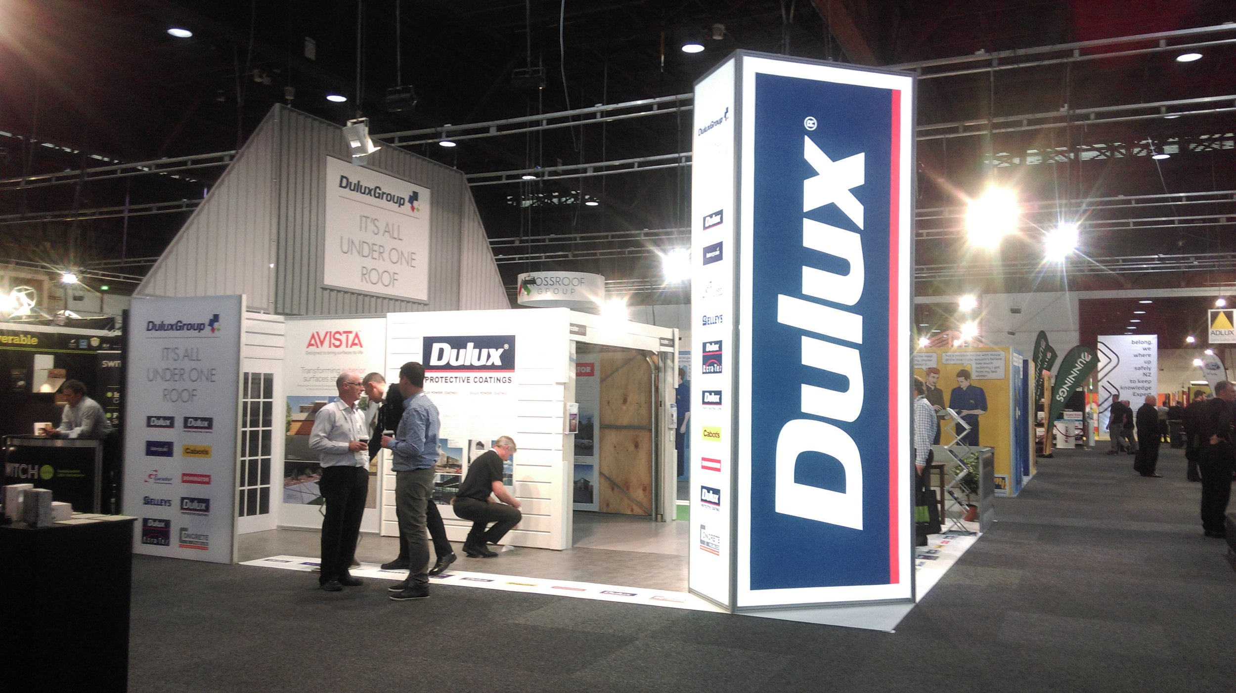 Deluxe Exhibition Stand at the HomeShow