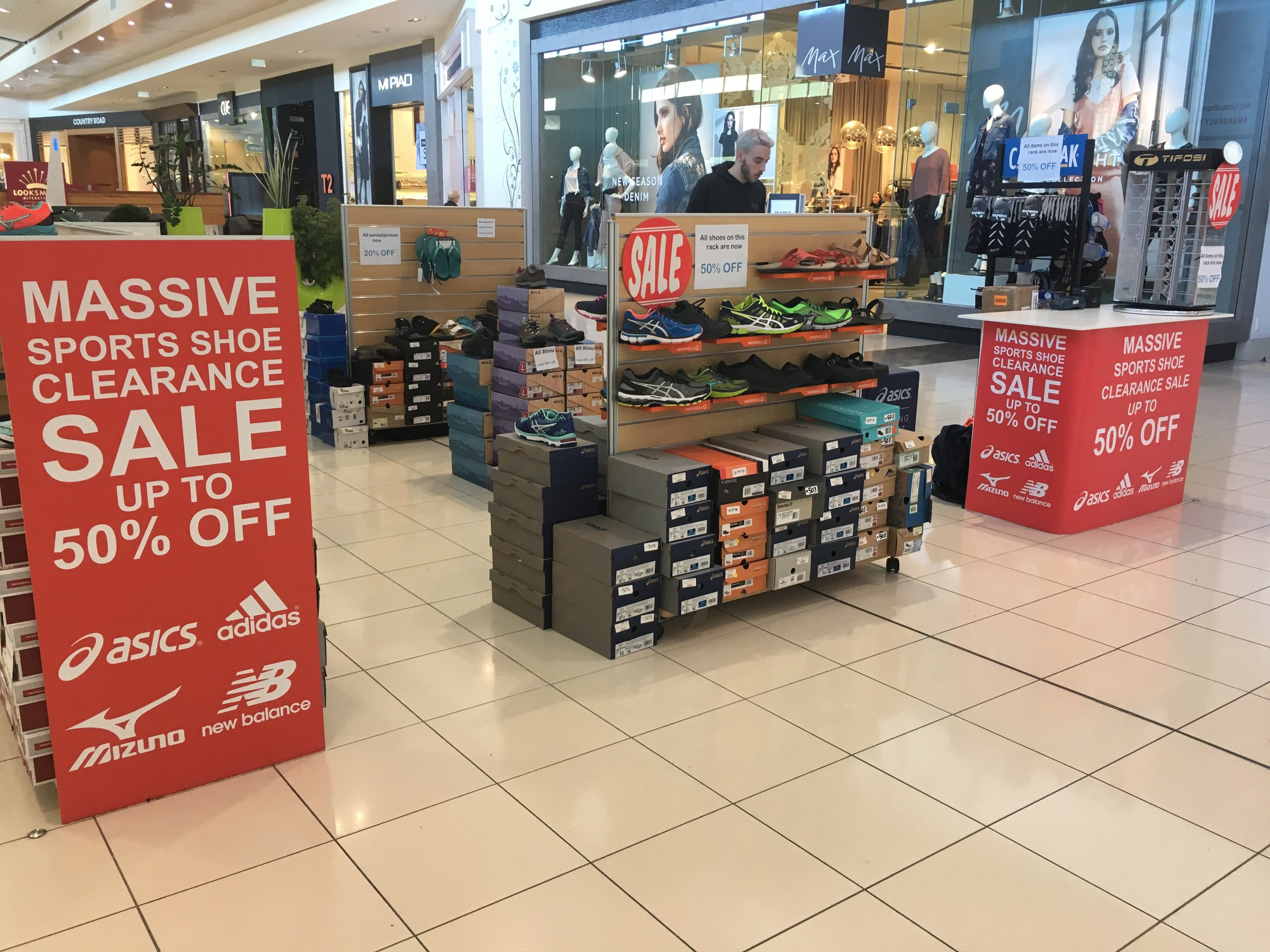 Shoe Clinic Pop Up Retail