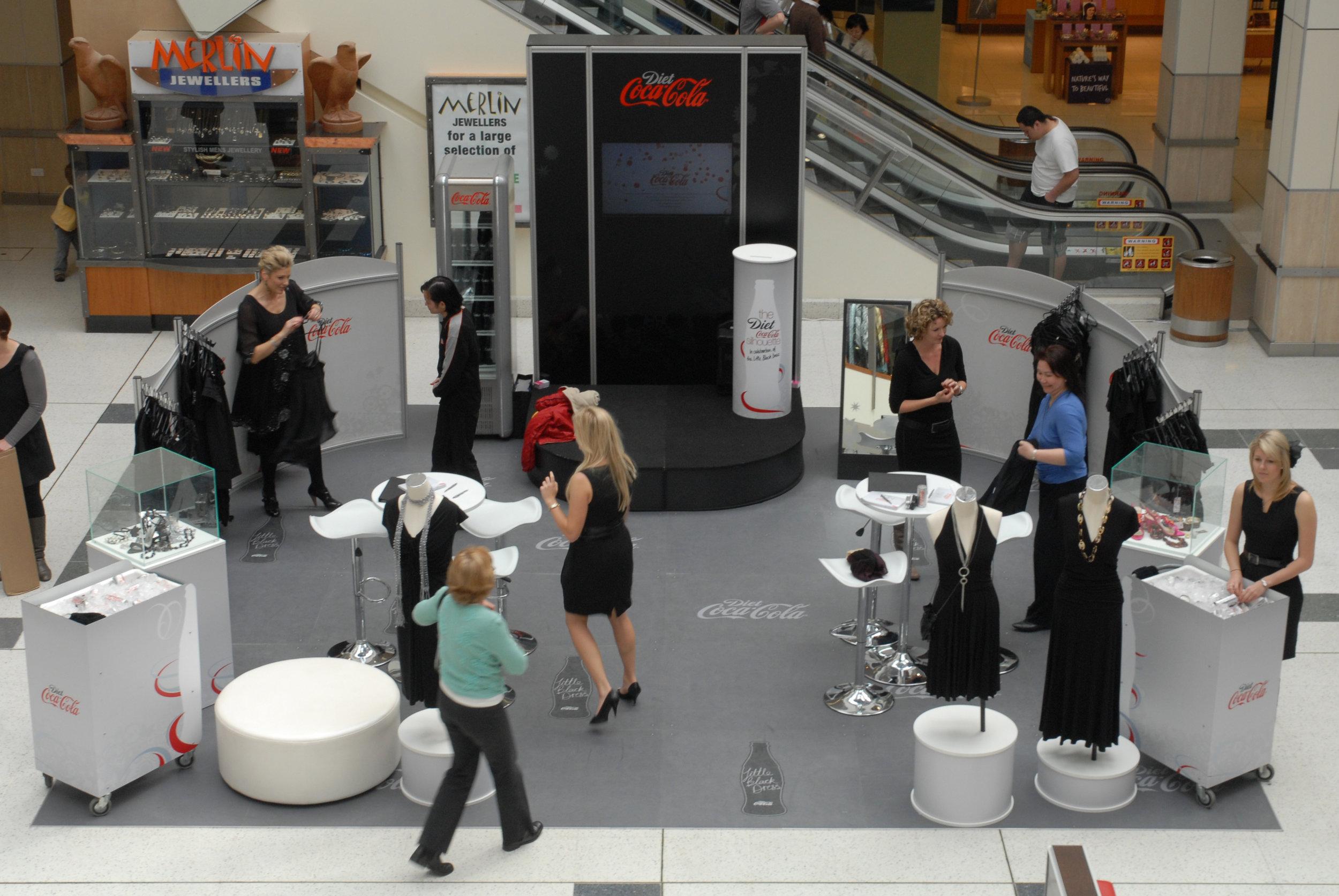 Coke Little Black Dress Campaign