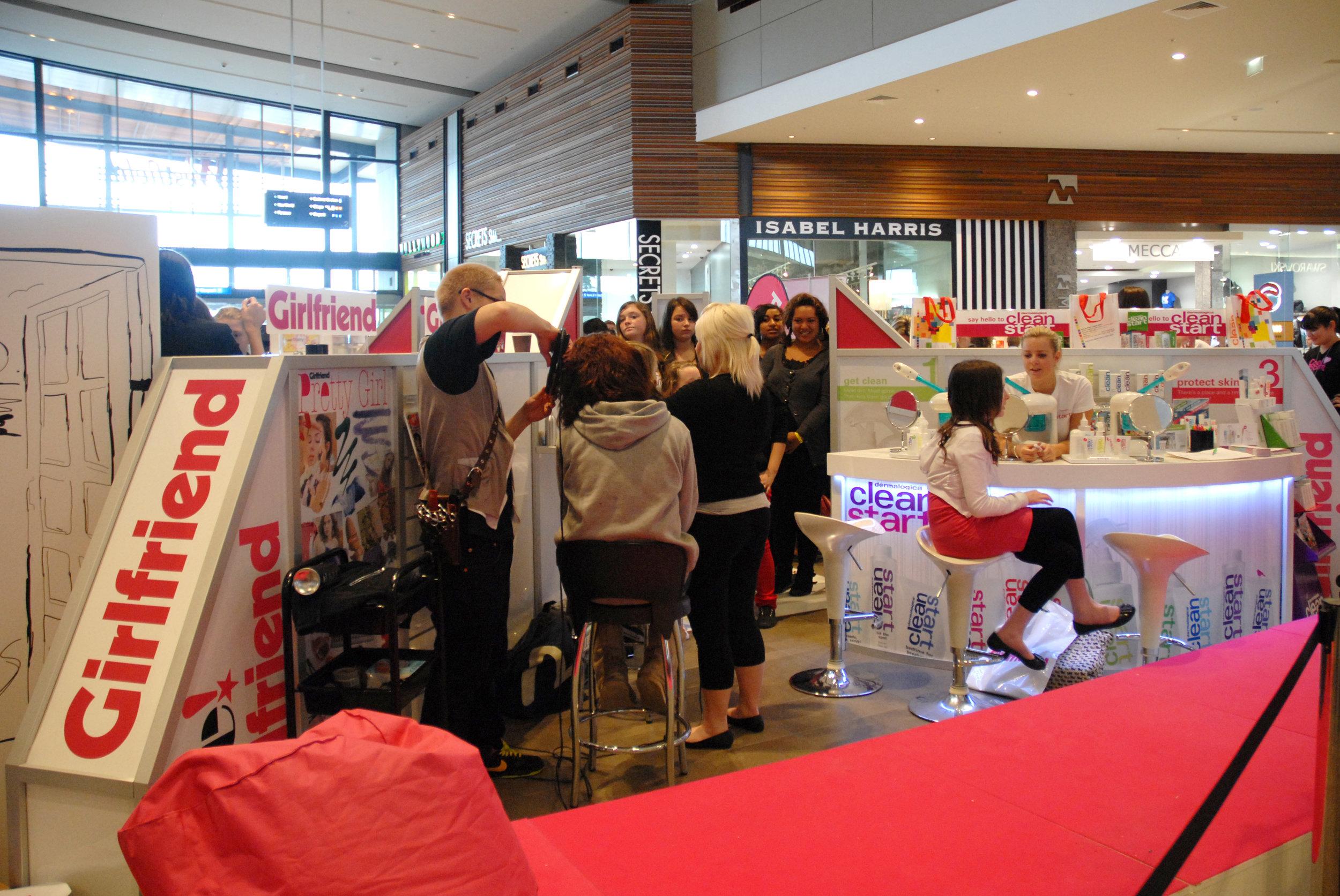 Girlfriend Mall Activation