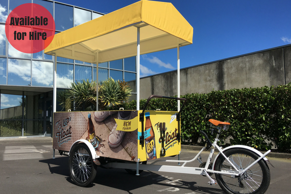 ZM/ L&P Sampling Vendor Bike - NOW AVAILABLE TO HIRE - Click to enquire