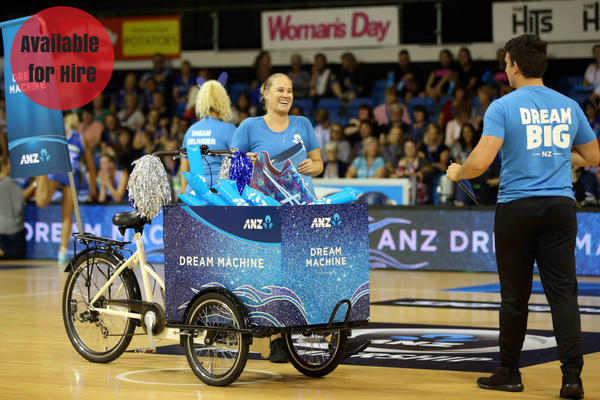ANZ Dream Machine - NOW AVAILABLE TO HIRE - Click to enquire