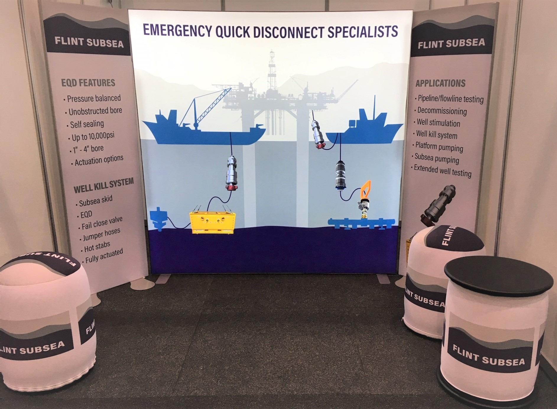 Flint Subsea Exhibition Stand