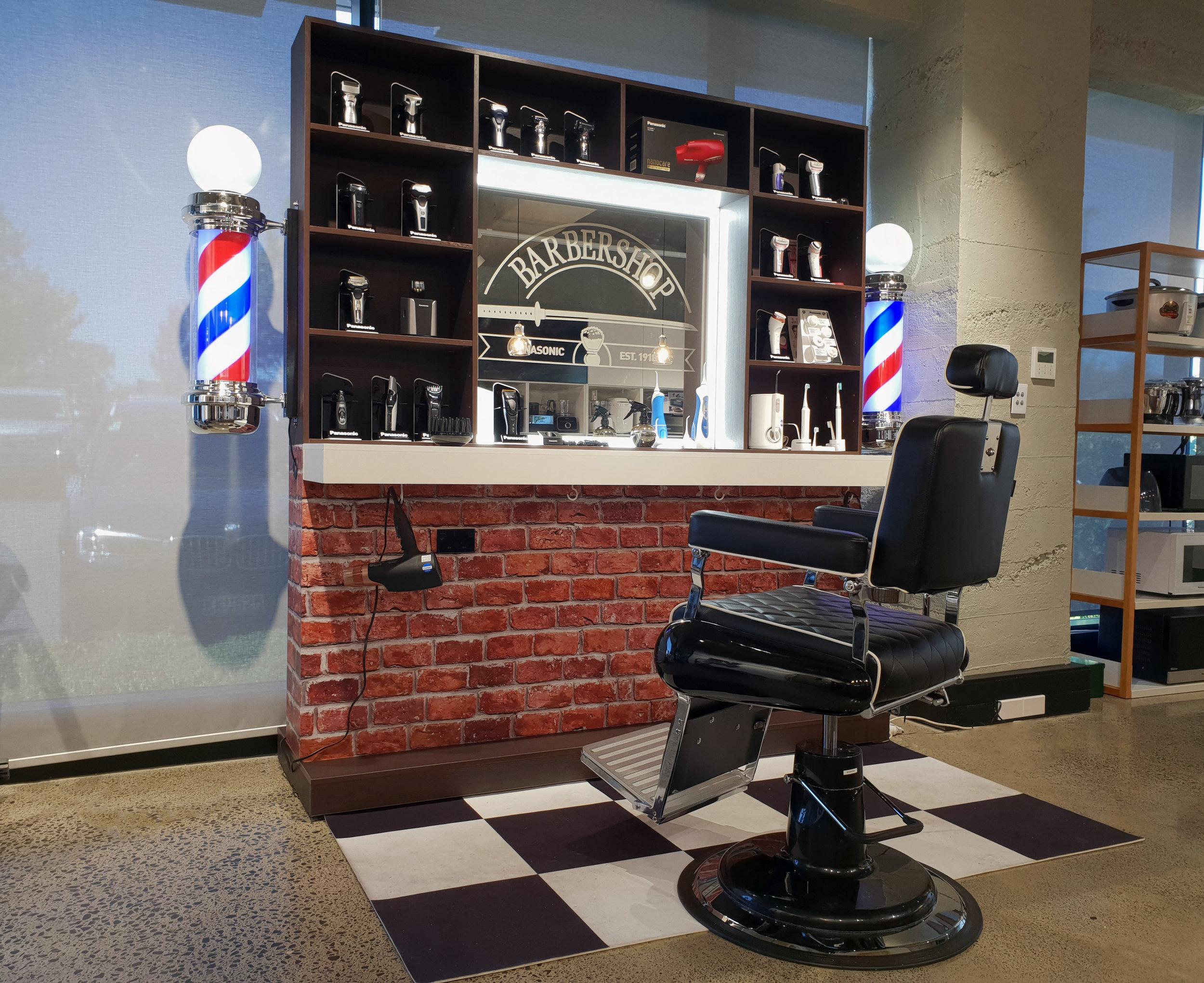 Panasonic Barber's Booth