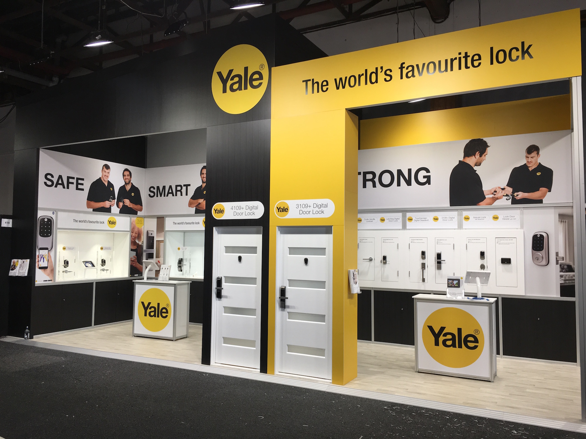 Yale Exhibition Stand 2019