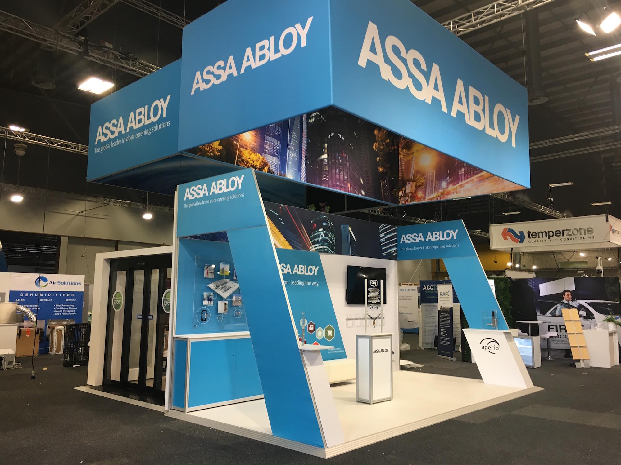 Assa Bloy Exhibition Stand 2019