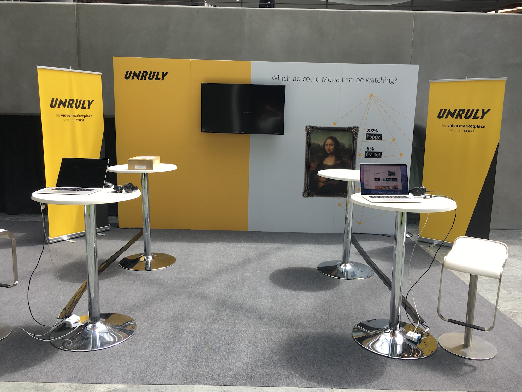 Unruly Exhibition Stand